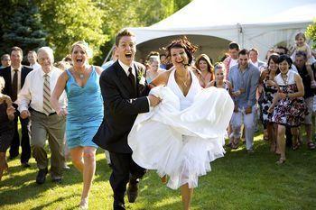 Beispiel: Hochzeitgesellschaft, Foto: Hotel Rolandsburg.