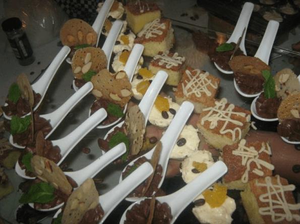Canapés elegantes para bodas - Foto Focaccia Banquetes