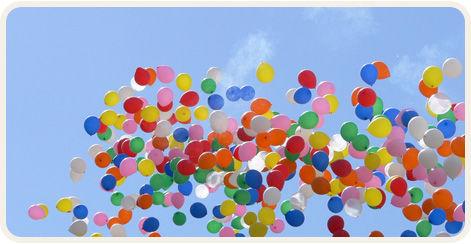 Beispiel: Luftballons, Foto: Annett Music.