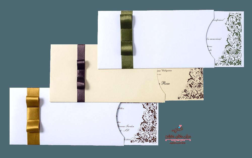 Convite Luva - Ref. CS.0158