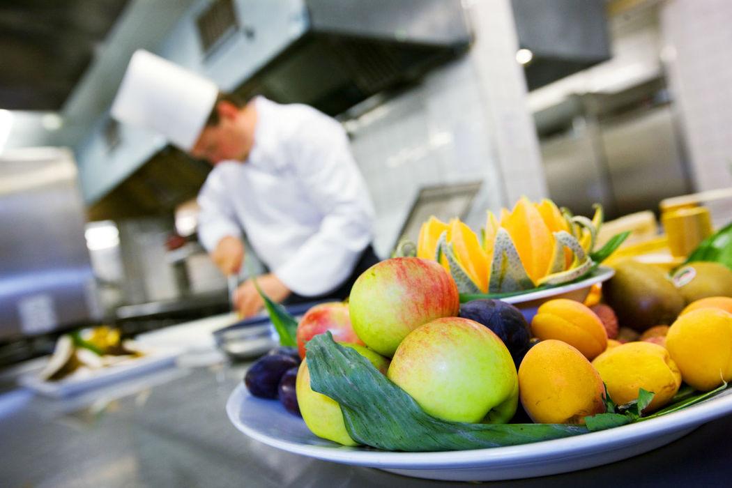 Beispiel: Professionelle Küche, Foto: Hotel Basel.