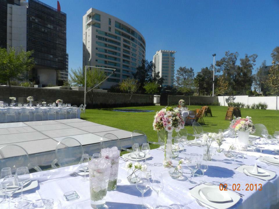 Terraza y Jardín Andares