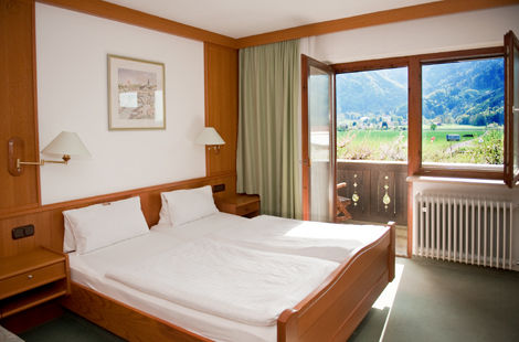 Beispiel: Hotelzimmer, Foto: Weßner Hof.