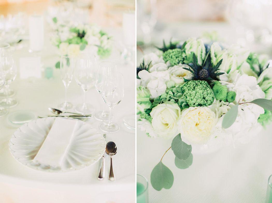 Decoração floral estilo clássico e contemporâneo