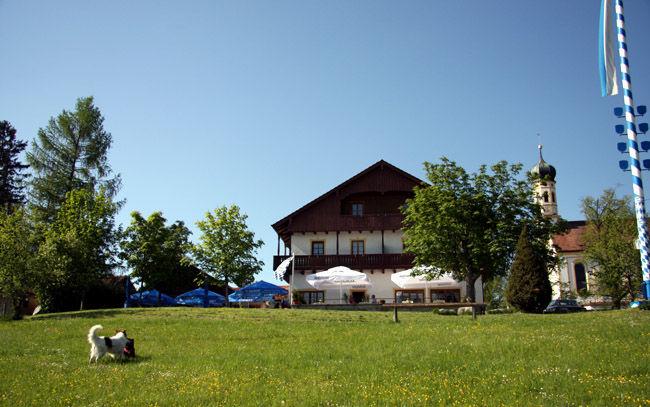 Beispiel: Großzügige Außenanlagen, Foto: Landgasthof Berg.