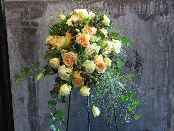 Beispiel: Wunderschöner Schmuck für Ihre Hochzeit, Foto: Blumen Kamm.
