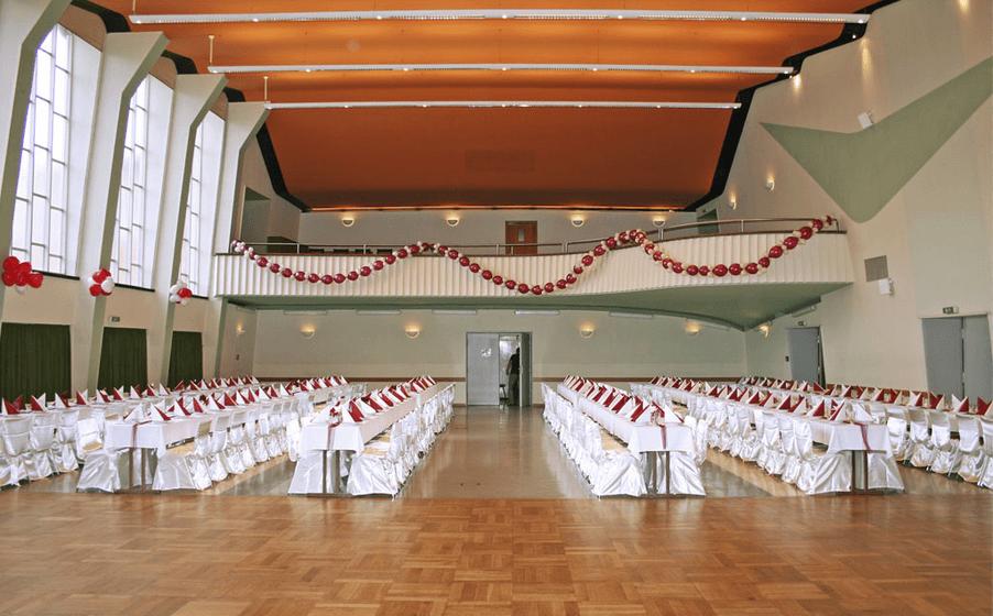 Beispiel: Festsaal, Foto: Antonius Haus.