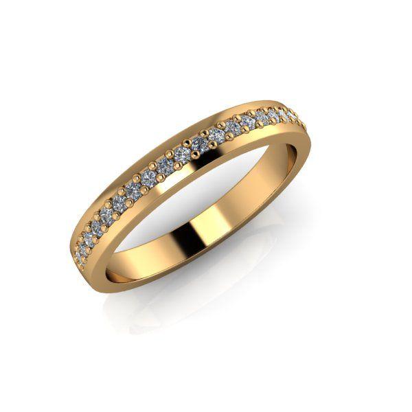 Lanfossi Gioielli - Fede Eternel in oro giallo 18 k e Diamanti