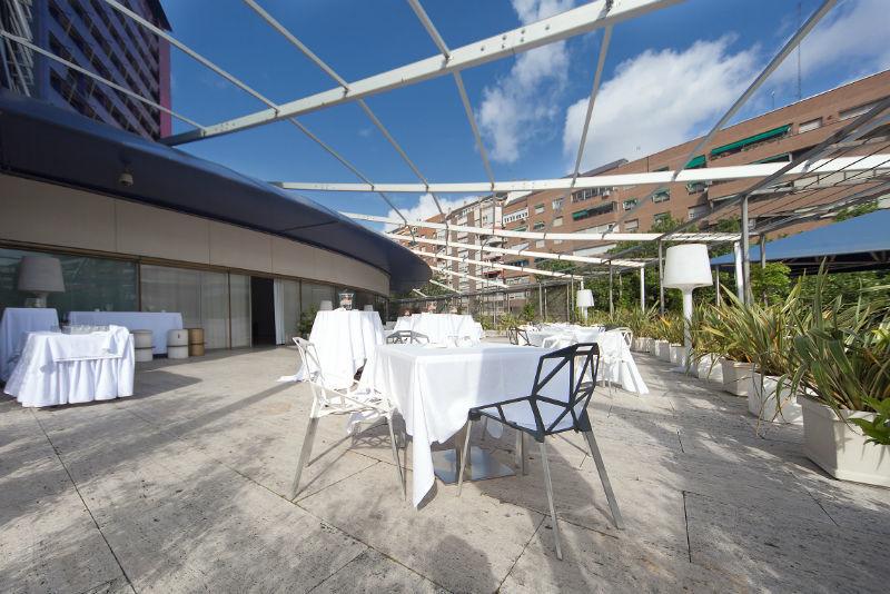 Hotel Silken Puerta América.