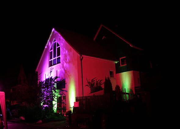 Beispiel: Aussenbeleuchtung, Foto: derWelle.