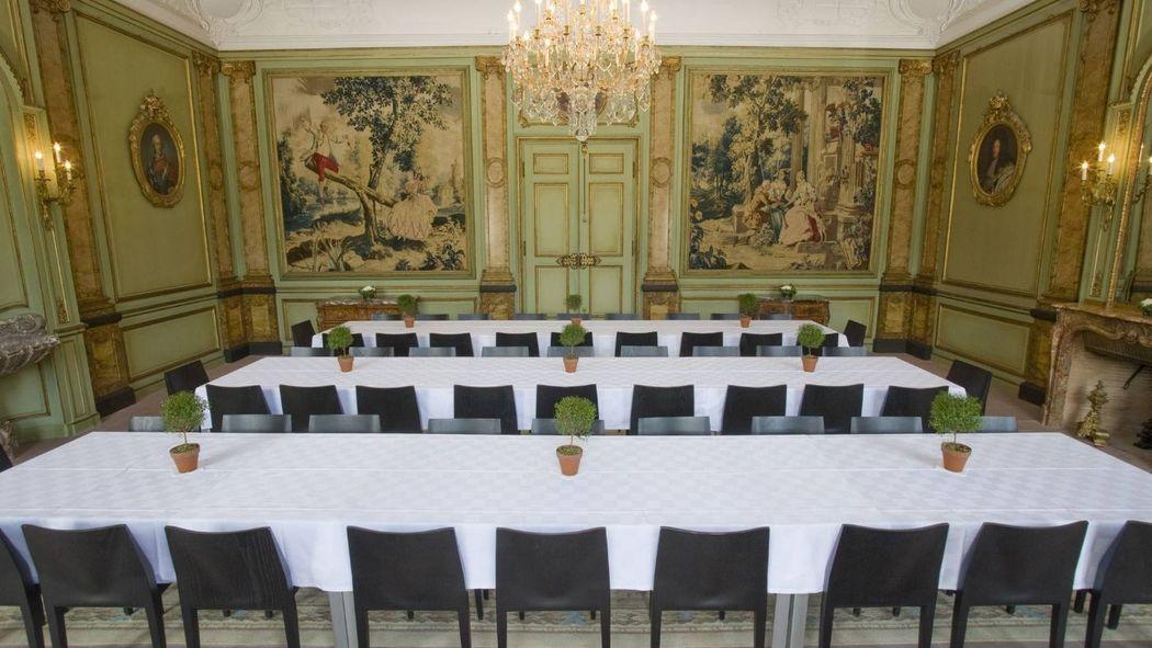 Beispiel: Tischanordnung, Foto: Villa Wenkenhof.