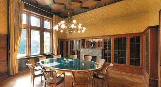 Beispiel: Lesezimmer, Foto: Villa Boveri.