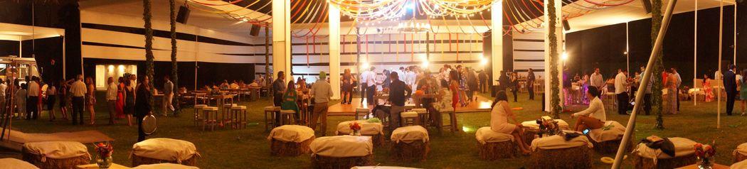 Estilo Rustico Campestre - Salas Lounge