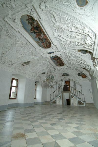 Beispiel: Weißer Saal, Foto: Burg Riegersburg.