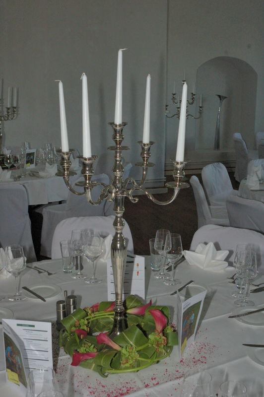 Beispiel: Tischschmuck, Foto: Blatt & Blüte.