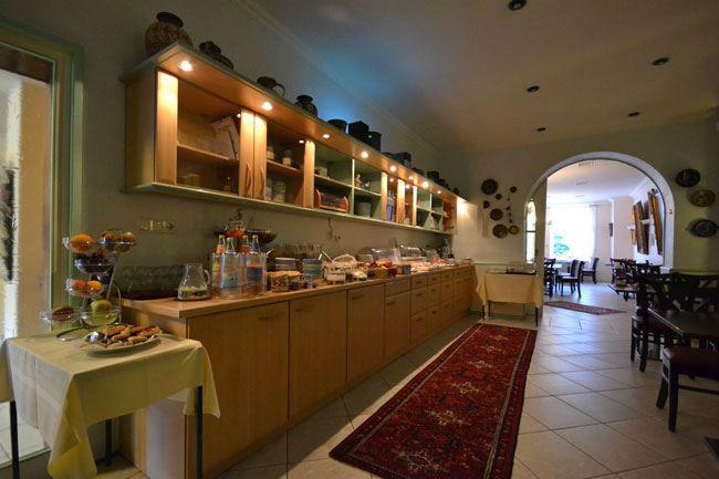 Beispiel: Frühstücksbüffet, Foto: Hotel Consul.