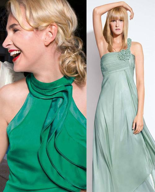 Beispiel: Kleider für Brautführerinnen, Foto: Mode Weber.