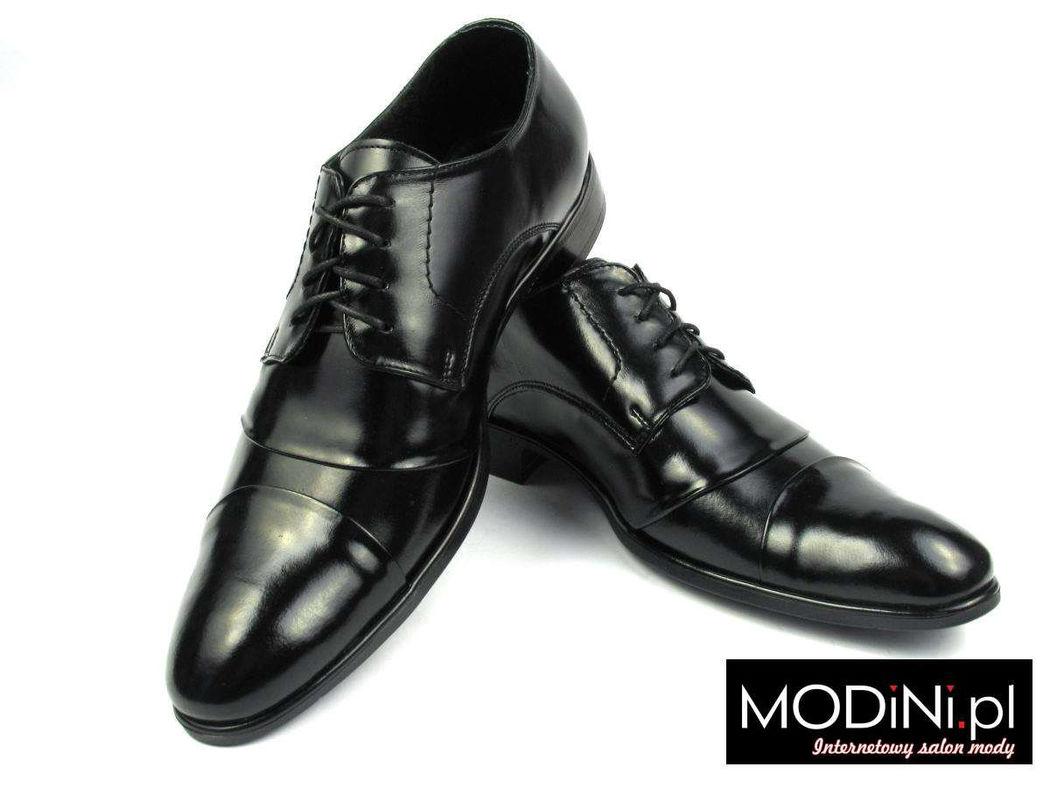 Czarne obuwie męskie - bardzo wygodne