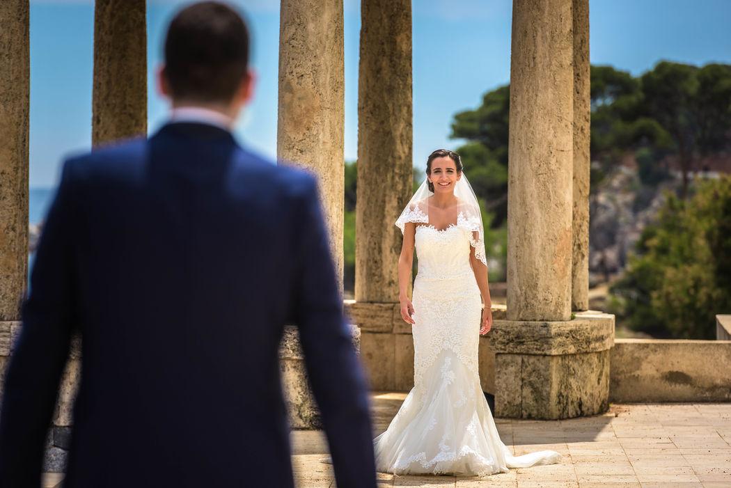 Bride coming
