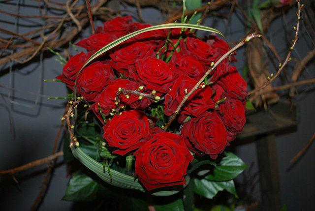 Beispiel: Blumendekoration, Foto: Blümchen Frankfurt.