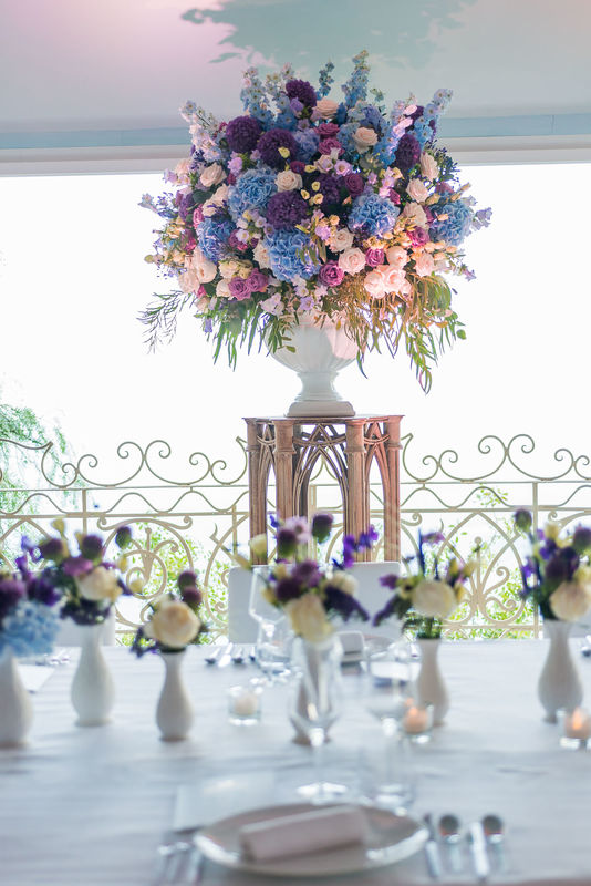 La Broc & Fleurs: le mariage aux couleurs du ciel