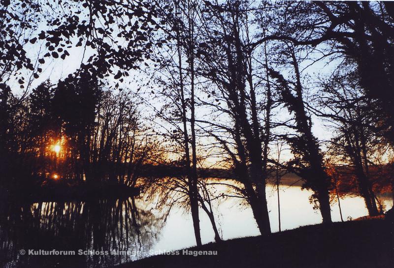 Beispiel: Abendstimmung, Foto: Schloss Hagenau.