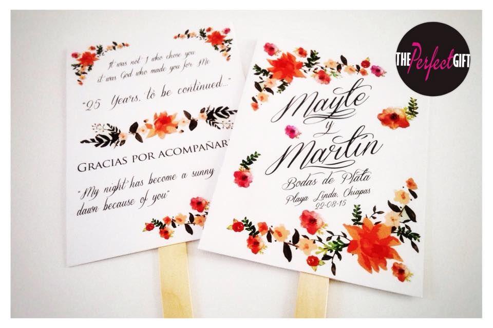 Abanicos impresos personalizados