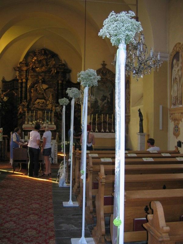 Beispiel: Kirchenschmuck, Foto: Evis Blattwerk.