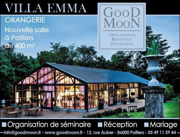 Villa Emma - Lieu de réception - Poitiers centre ville- 450m2 de réception de 50 à 400 personnes dîner - Parc de 5 hectares clos de murs - Cèdres centenaires.
