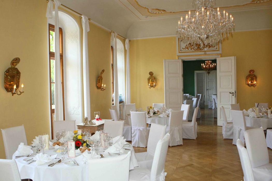 Beispiel: Festlich eingedeckt, Foto: Bülow Palais.