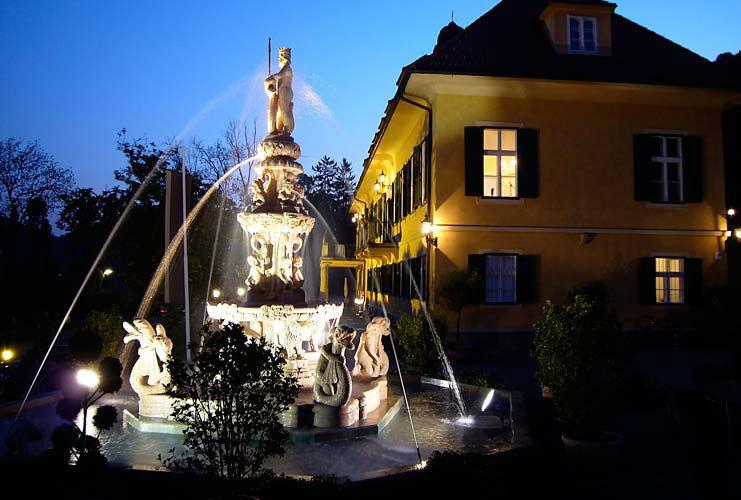 Beispiel: Herrlicher Außenbereich, Foto: Schloss St. Veit.