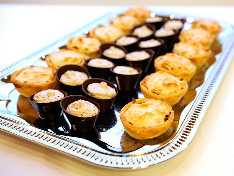 Beispiel: Catering für jeden Geschmack, Foto: Hombergerhaus.