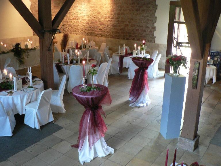 Beispiel: Hochzeitslocation, Foto: Majer Weingut.