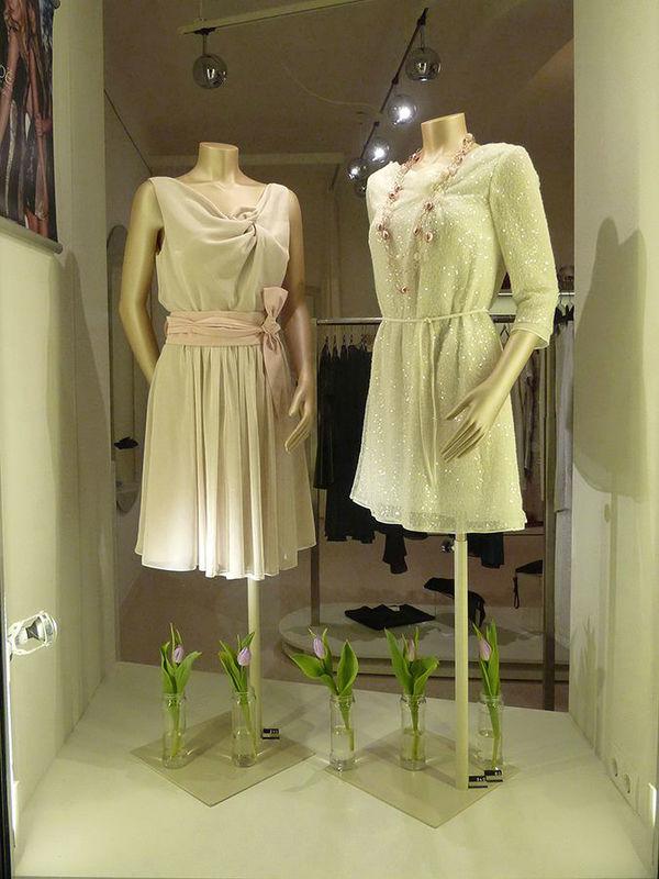 Beispiel: Festkleider, Foto: ZOE-Modedesign.