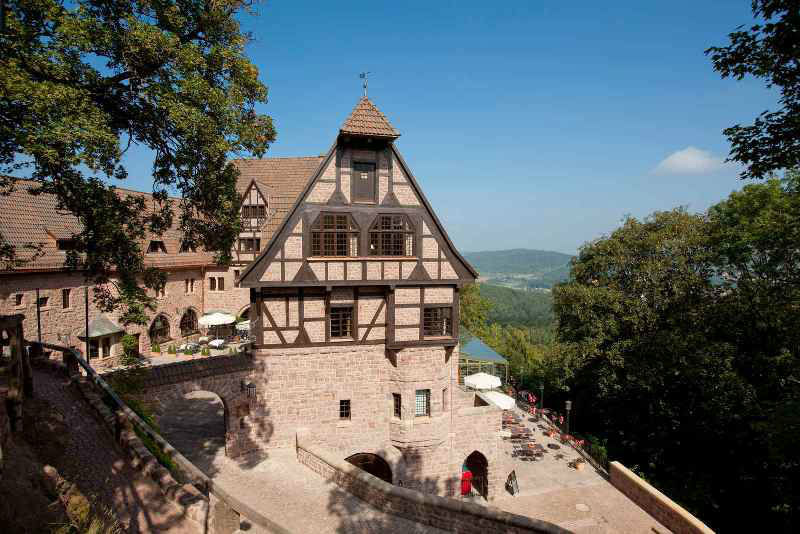 Blick von oben, Foto: Hotel auf der Wartburg