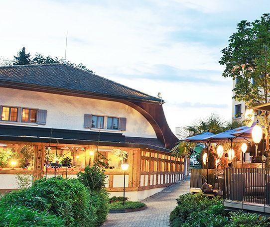 Beispiel: Aussenansicht, Foto: Seerose Resort & Spa.