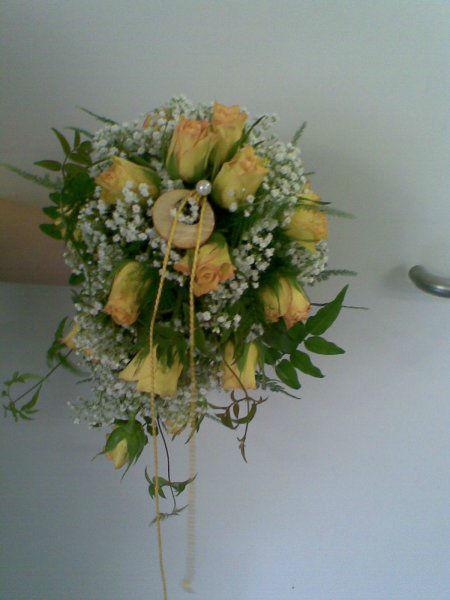 Beispiel: Ihr persönlicher Brautstrauß, Foto: Blumenhus Spaltenstein.