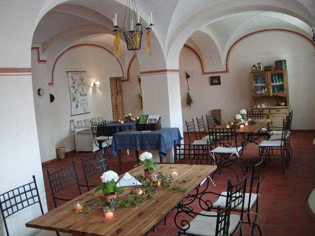 Die Schlossküche für kleinere Hochzeitsfeiern, Foto: Schloss Reichstädt