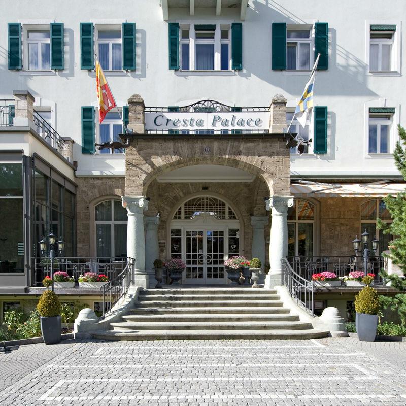 Beispiel: Eingang, Foto: Cresta Palace.