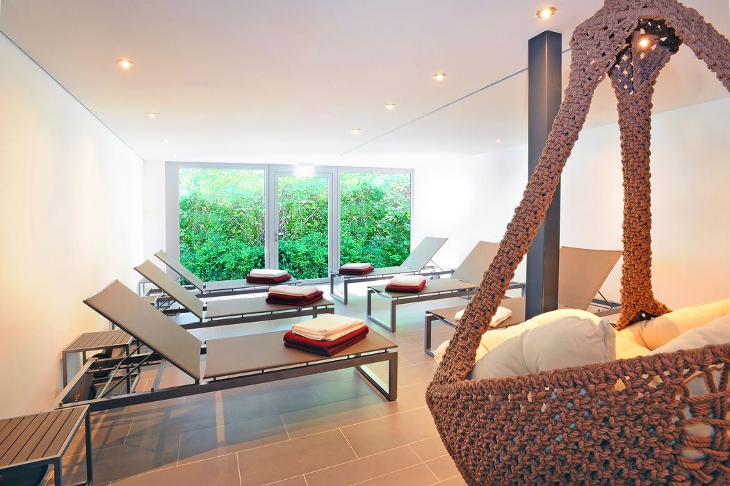 Beispiel: Ruhelounge Wellnessbereich, Foto: Schlosshotel Monrepos.