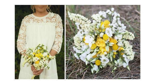 Bouquet réalisé pour un shooting d'inspiration  Crédit photo : Salomé Barrot