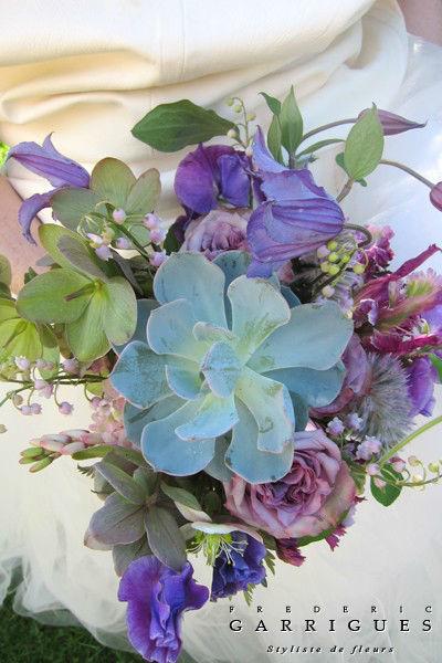 Bouquet de la mariée de printemps - Frédéric Garrigues
