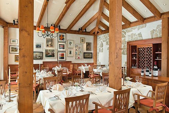Beispiel: Restaurant, Foto: Travel Charme Bernstein Prerow.