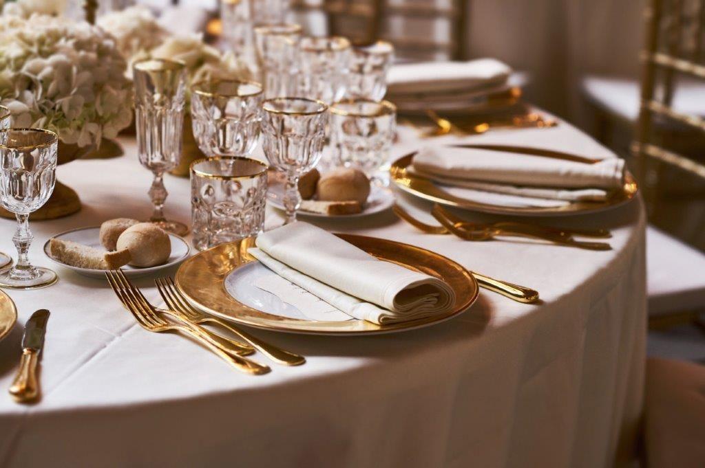 Lo Scalco catering ricevimenti Firenze L'eleganza dell'oro