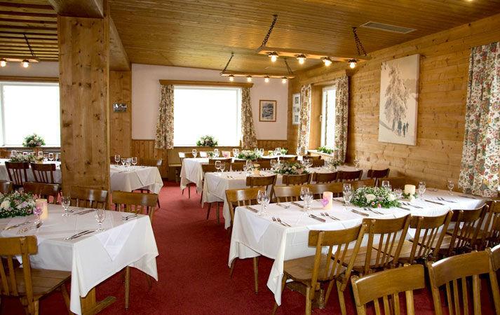 Beispiel: Restaurant, Foto: Alpenhaus.
