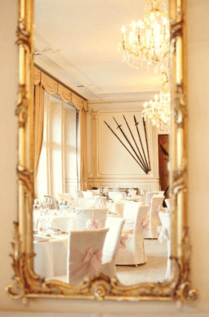 Beispiel: Hochzeit im Chateau Gütsch - Bankettsaal, Foto: OGI - EVENTS.
