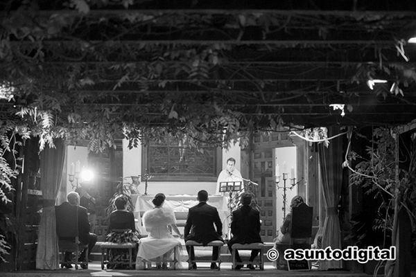 Ceremonia en La Quinta de Illescas. Foto Asunto Digital