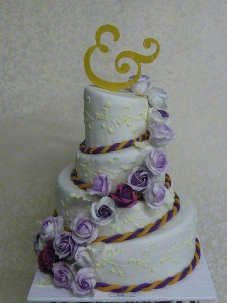 Beispiel: Traumhafte Hochzeitstorten, Foto: Brugger's My Wedding Cake.