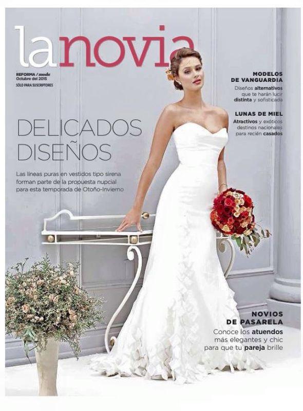 Ramos de novia Floristika, contamos con publicaciones en el suplemento la novia del periodico reforma donde somos conciderados una de tus mejores opciones para hacer tu ramo relidad.