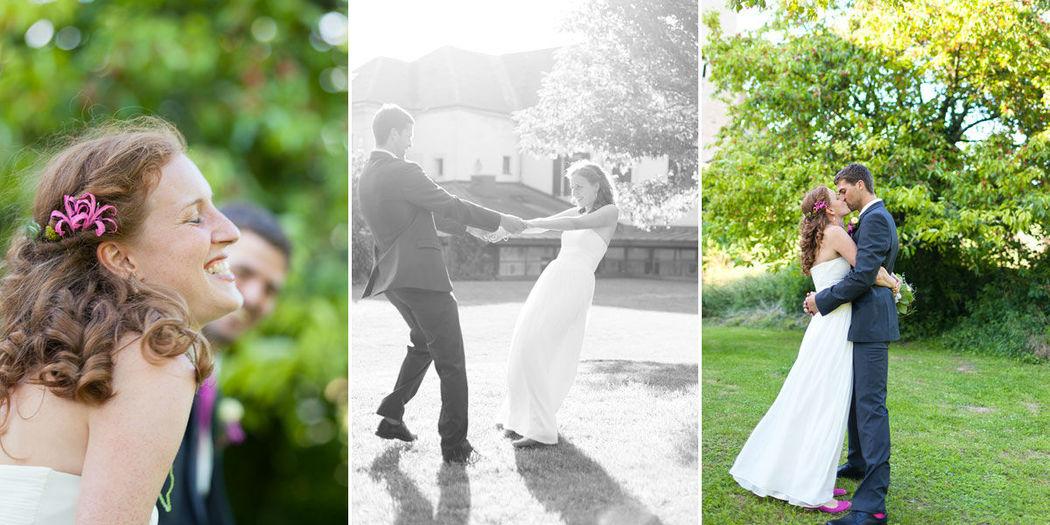 Beispiel: Ihre Hochzeitsreportage, Foto: Dorelies Hofer.